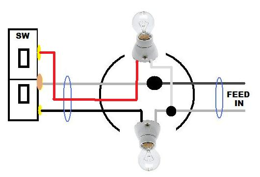 Adding additional switch to control separate light