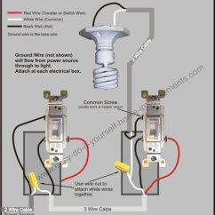 Single Light Switch Wiring Diagram Australia Mercedes Benz Engine Making A 3-way To Pole For Smart - Doityourself.com Community ...