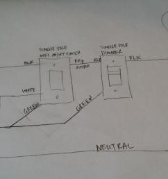 90172d1517327148 keep existing single pole wifi switch wire single pole dimmer 1517327122743 8257455 jpg1701 957  [ 1701 x 957 Pixel ]