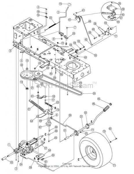 Mtd Belt Diagram 46 In Yardman. Parts. Wiring Diagram Images