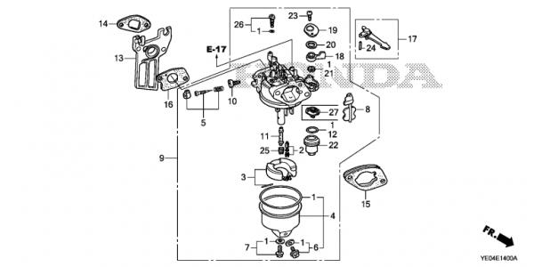 Honda 5hp Engine Diagram • Wiring Diagram For Free
