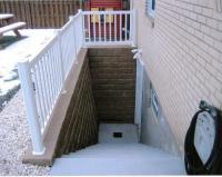Basement entrance drain