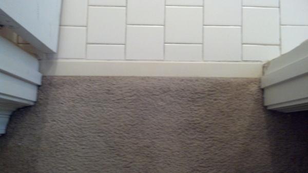 Transition help laminate to tile  DoItYourselfcom