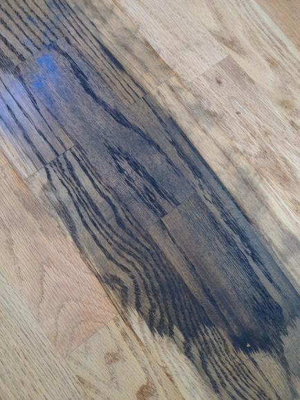 problem staining oak floor  cant get it dark enough