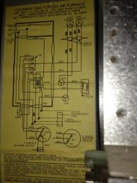 Rewiring Old Coleman Furnace for Filtrete 3M50 Thermostat ...