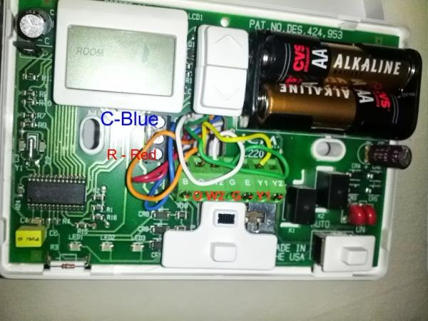 lennox thermostat wiring diagram b swapping thermostat. - doityourself.com community forums