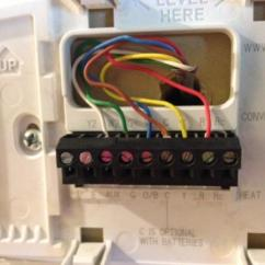 2 Wire Thermostat Wiring Diagram Heat Only Dta S40 Honeywell Rth7600d - Doityourself.com Community Forums
