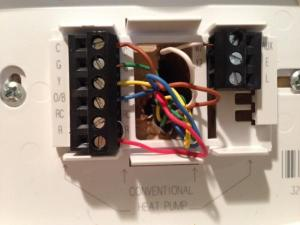 Honeywell Thermostat RTH7600D  DoItYourself Community Forums