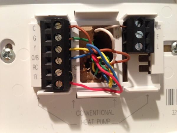 Honeywell Thermostat Rth D Function 190 Quick Question