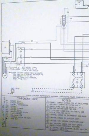 Wiring assistance for RUUD UBHC14J06shd to Honeywell