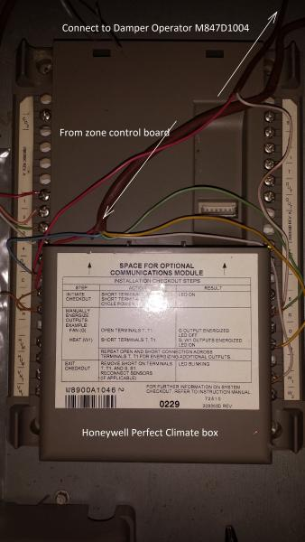 Wiring Is Installed The First Option Wiring To The Thermostat Is The