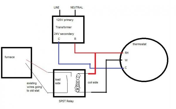wiring diagram for 24v relay