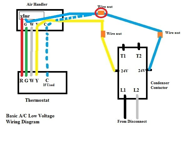 24 volt relay wiring diagram cat5 rj45 socket attaching common wire for thermostat on hvac end - doityourself.com community forums