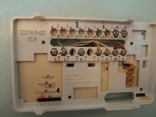 Wiring In Addition Honeywell Thermostat Wiring Diagram Also Honeywell