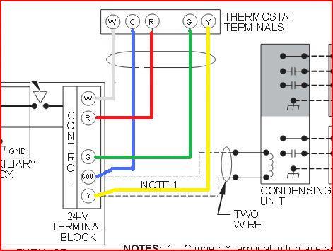 thermostat wiring diagram server room layout honeywell furnace great installation of replacing carrier 960 120032 2 with rth9580 wi rh doityourself com