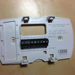 Two Wire Thermostat Wiring Diagram Gm Headlight Replacing Old Honeywell Chronotherm To Wi-fi Help - Doityourself.com ...