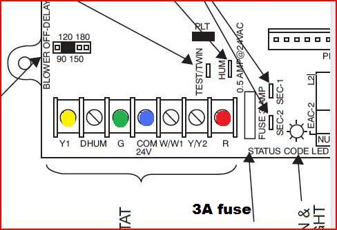 Honeywell Thermostat Wiring Diagram Auxiliary Fan