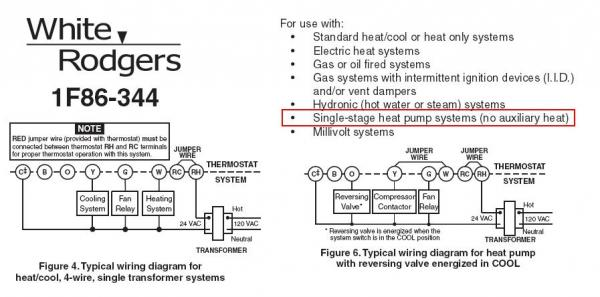 white rodgers wiring diagram thermostat 2007 ford ranger stereo 1f86-344 - doityourself.com community forums