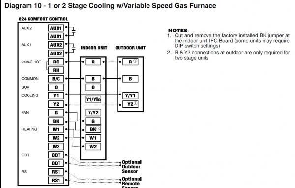 trane heat pump thermostat wiring diagram Heating Thermostat Wiring american standard trane heat pump air handler thermostat not heating thermostat wiring