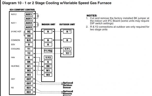 American Standard Trane Heat Pump Air Handler Thermostat Not