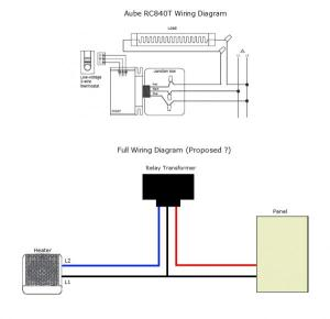 Relaytransformer for fanforced heater  DoItYourself