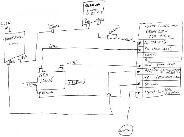 robertshaw gas valves wiring diagram control