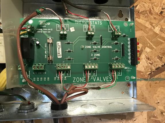 Zone Valve Wiring Zone Valve Wiring Diagram