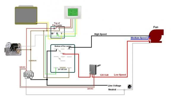fan control center relay and transformer wiring diagram ford mustang adding - doityourself.com community forums