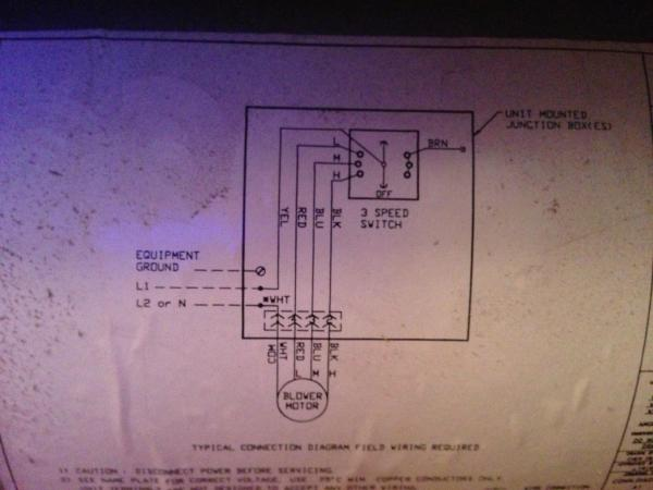 Electric Fan Coil Wiring Diagram