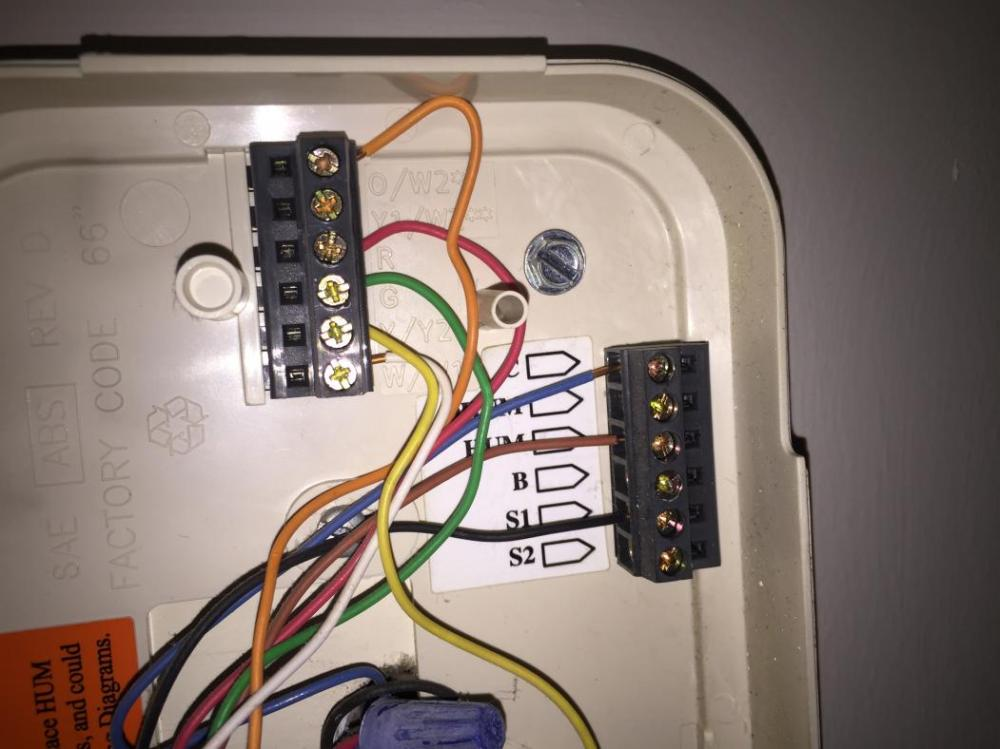 medium resolution of need help wiring nest from old thermostat doityourself com doityourselfhomenetworkwiring thermostat wiring doityourself