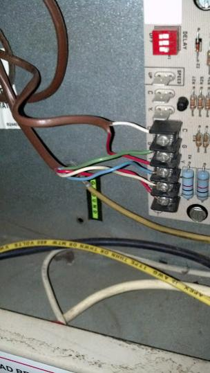 Old Thermostat Wiring To New Thermostat Wiring