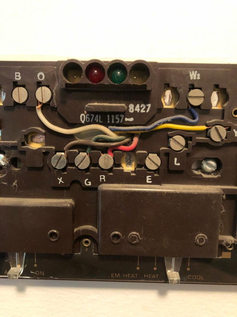 medium resolution of old mercury thermostat wiring wiring diagram fascinating blower motor wiring also old honeywell mercury thermostat wiring