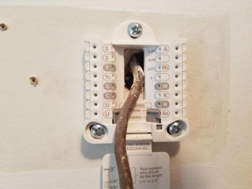 small resolution of help wiring new honeywell from old mercury thermostat doityourself