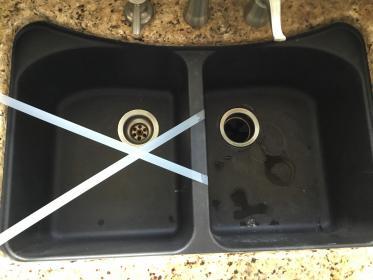 cracked leaking blanco silgranite sink