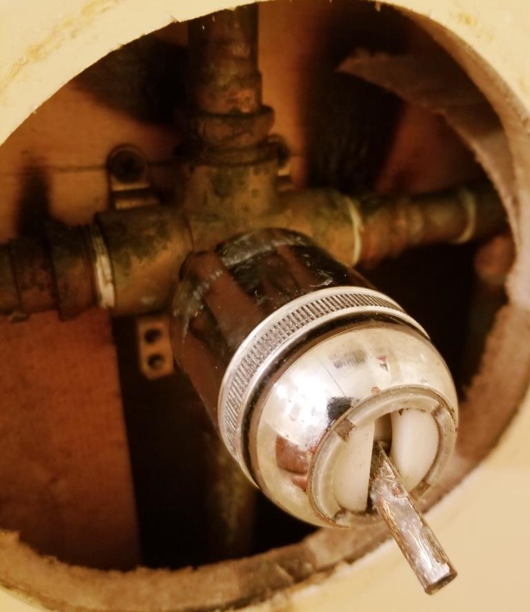 circa 1987 delta shower valve cartridge