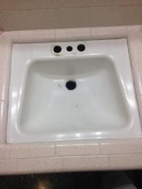 Replacing bathroom sink - DoItYourself.com Community Forums