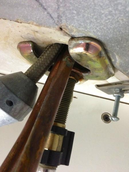 Can someone help me figure out how to remove this faucet  DoItYourselfcom Community Forums