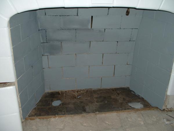 how to repair deteriorating mortar in fireplace