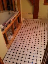 Bathroom tile layout (with pics) - DoItYourself.com ...