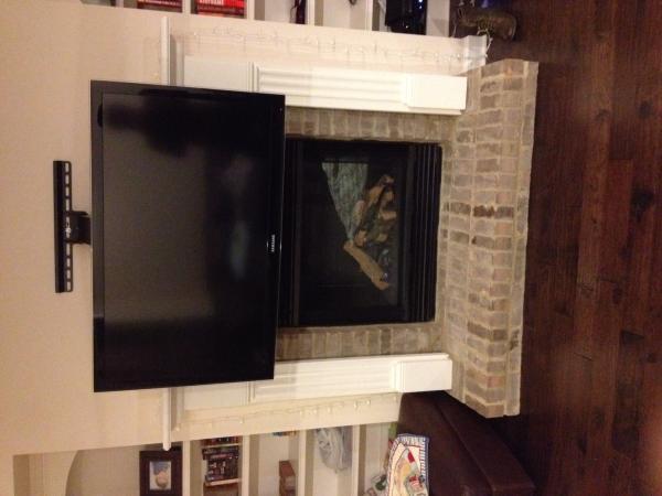 Wall Mounting TV Above Fireplace  DoItYourselfcom