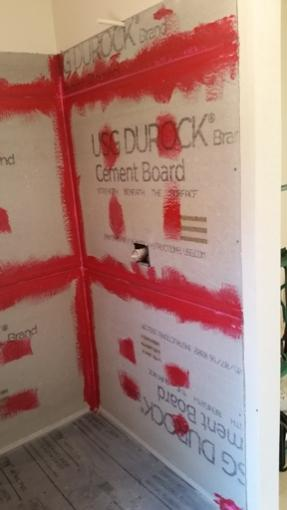 Bathroom Durock to sheetrock transition  DoItYourselfcom Community Forums
