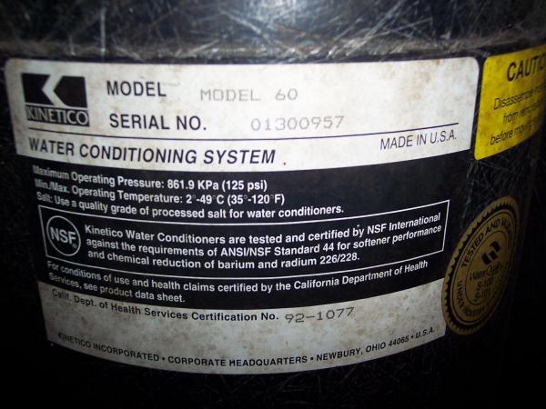 Kinetico Softener Amp Iron Filterneed Help DoItYourself