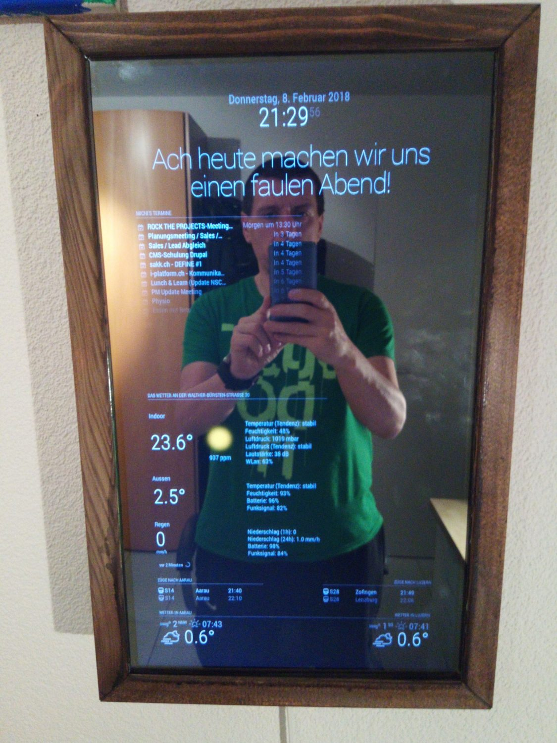 Magic Mirror 2 Anleitung