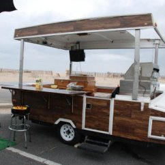 Kitchen Trailer Big Sinks Whiskey Tango Pop Up Rv 4