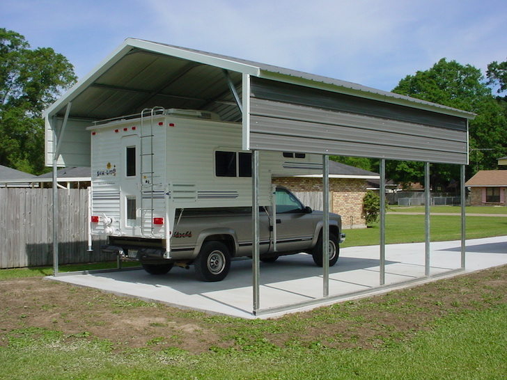 RV Carport And Garage Options Customizations And Costs