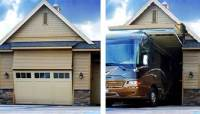 One of a Kind RV Garage: 8 Foot Tall Door That Your RV Can ...