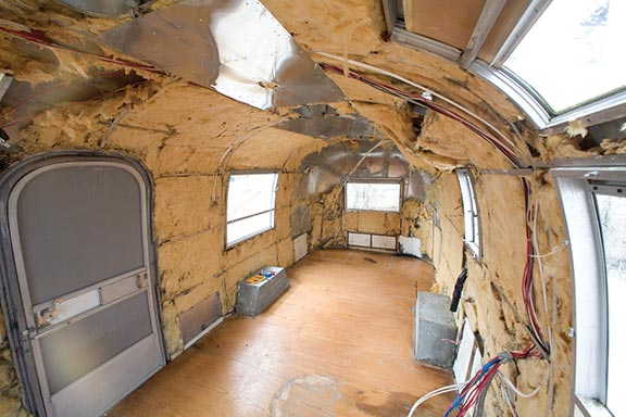 Timeless Airstream Interior Restoration of a 1968 Safari 22