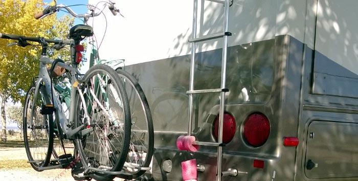 best rv bike rack hitch ladder