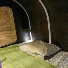 Tiny Kitchen Remodel Installation This Man Built A Homemade Tear Drop Camper By Himself