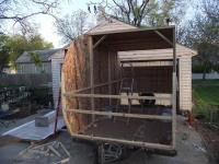 Couple Turns Moldy Pop Up Camper Into Beautiful DIY Trailer